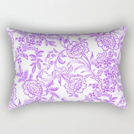 Radiant Orchid Tea Reversed Rectangular Pillow