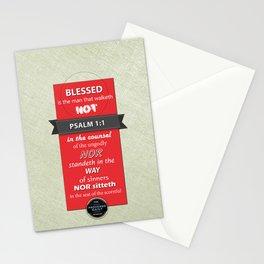 Psalm 1:1 Stationery Cards