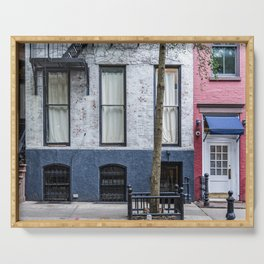 Old Greenwich Village apartment Serving Tray