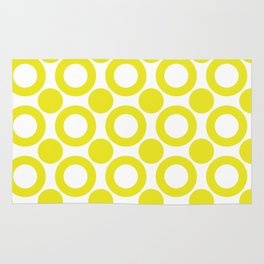 Dot 2 Yellow Rug