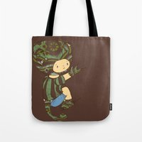 charlie Tote Bags featuring Charlie by Rachel Isaacs