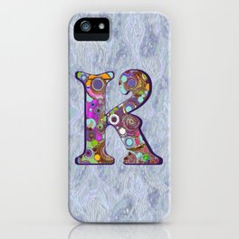 The Letter K iPhone Case