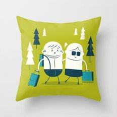 :::Excursion time::: Throw Pillow