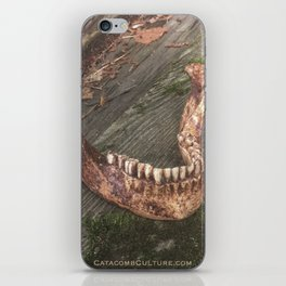 Catacomb Culture - Mandible / Jaw Bone iPhone Skin