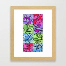Bright Design  Framed Art Print