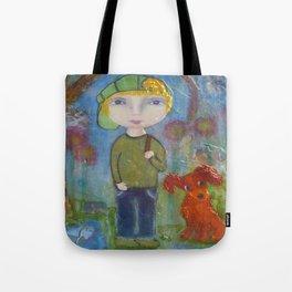 Anton & Gumbo - Whimsies of Light Children Series Tote Bag