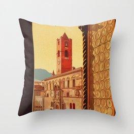 Old Ascoli Piceno Throw Pillow