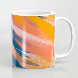 Abstract brush strokes background Coffee Mug