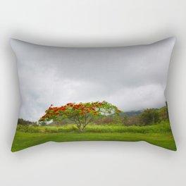 Royal Poinciana Tree Rectangular Pillow