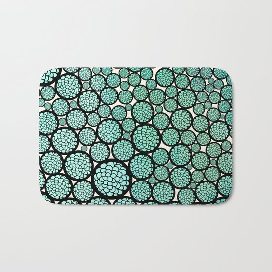 Blooming Trees Bath Mat