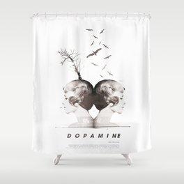 Dopamine   Collage Shower Curtain