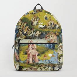 Hieronymus Bosch The Garden of Earthly Delights Backpack