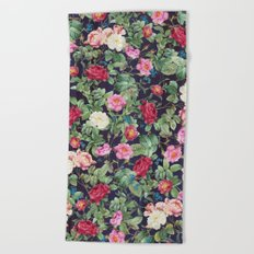 Rose garden Beach Towel