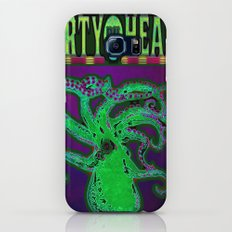 Dirty Heads Psychedelic Octopus #2 Colorful Trippy Vibrant Character Design Galaxy S7 Slim Case