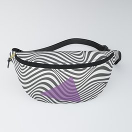 Wavy Lines Fanny Pack