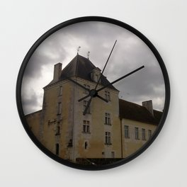 The castle of the birds Wall Clock