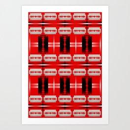 Buffalo Factory – Blade Blanket #2 Art Print