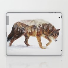 Arctic Wolf Laptop & iPad Skin