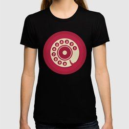 Vintage Red Telephone T-shirt