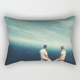 The Earth was crying and We were there Rectangular Pillow