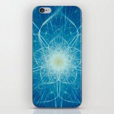 Beautiful Intricate Digital Flower iPhone Skin