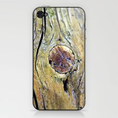 Wood1 iPhone & iPod Skin