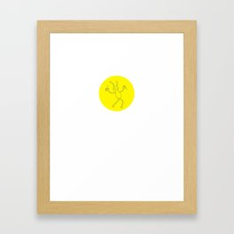 Jazz hands Framed Art Print