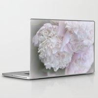 peonies Laptop & iPad Skins featuring Peonies by DuniStudioDesign