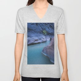 Damp and Moist Unisex V-Neck