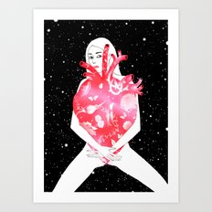 Follow your dress code Art Print