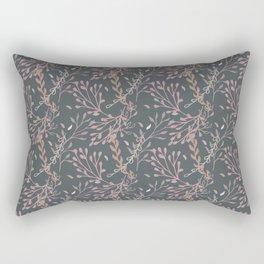 Hand Drawn Seamless Pattern Rectangular Pillow