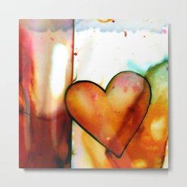 Heart Dreams 1 by Kathy Morton Stanion Metal Print