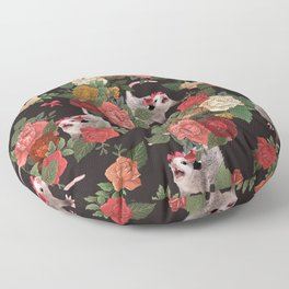 Opossum pattern Floor Pillow