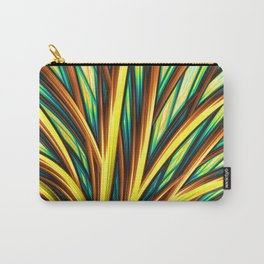 Cocktail - Fractal - Feathers - Peacock - Manafold Art Carry-All Pouch