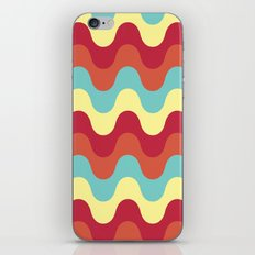 melting colors pattern iPhone & iPod Skin