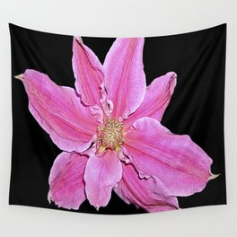 Pink & Black Wall Tapestry