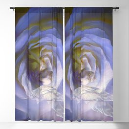 Fairy tale fantasy - purple rose Blackout Curtain