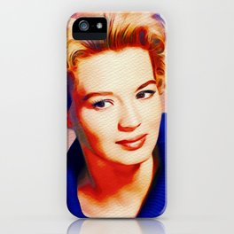 Angie Dickinson, Hollywood Legend iPhone Case