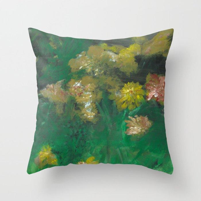Sun Blossom Throw Pillow
