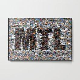 Poster Mosaic MTL // Affiche Mosaïque MTL Metal Print