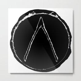 SolarRune-WishBone Metal Print