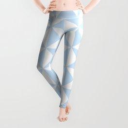 Pattens Blue Triangles | Beautiful Interior Design Leggings