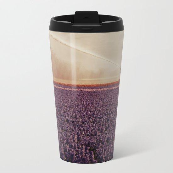 Hyacinth field #3 Metal Travel Mug