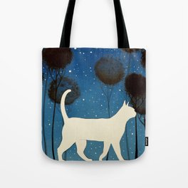 THE POETRY OF A NIGHT by Raphaël Vavasseur Tote Bag