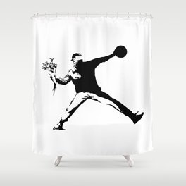 #TheJumpmanSeries, Banksy Shower Curtain
