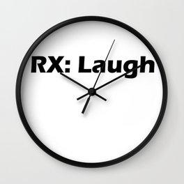 Rx: Laugh Wall Clock