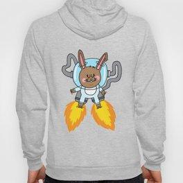 Space bunny Hoody