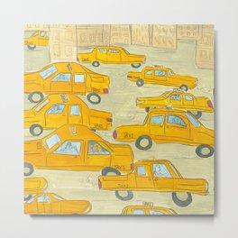 Taxis Metal Print