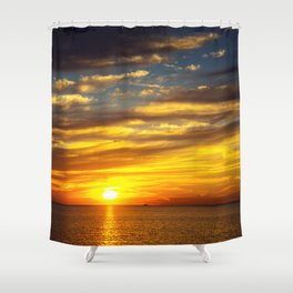 Mississippi Gulf Coast Shower Curtain