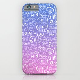 I love to play/Pink iPhone Case